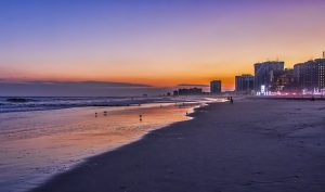 Beach in Sunset