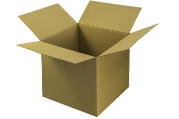 An open cardboard box you can use when packing for a cross country move.
