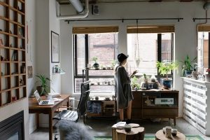 Home Office Decor Creative - How to set up a home office in a tiny apartment