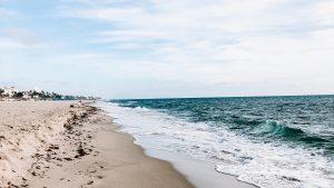 Ocean beach in Florida