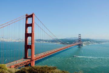Golden gate bridge California